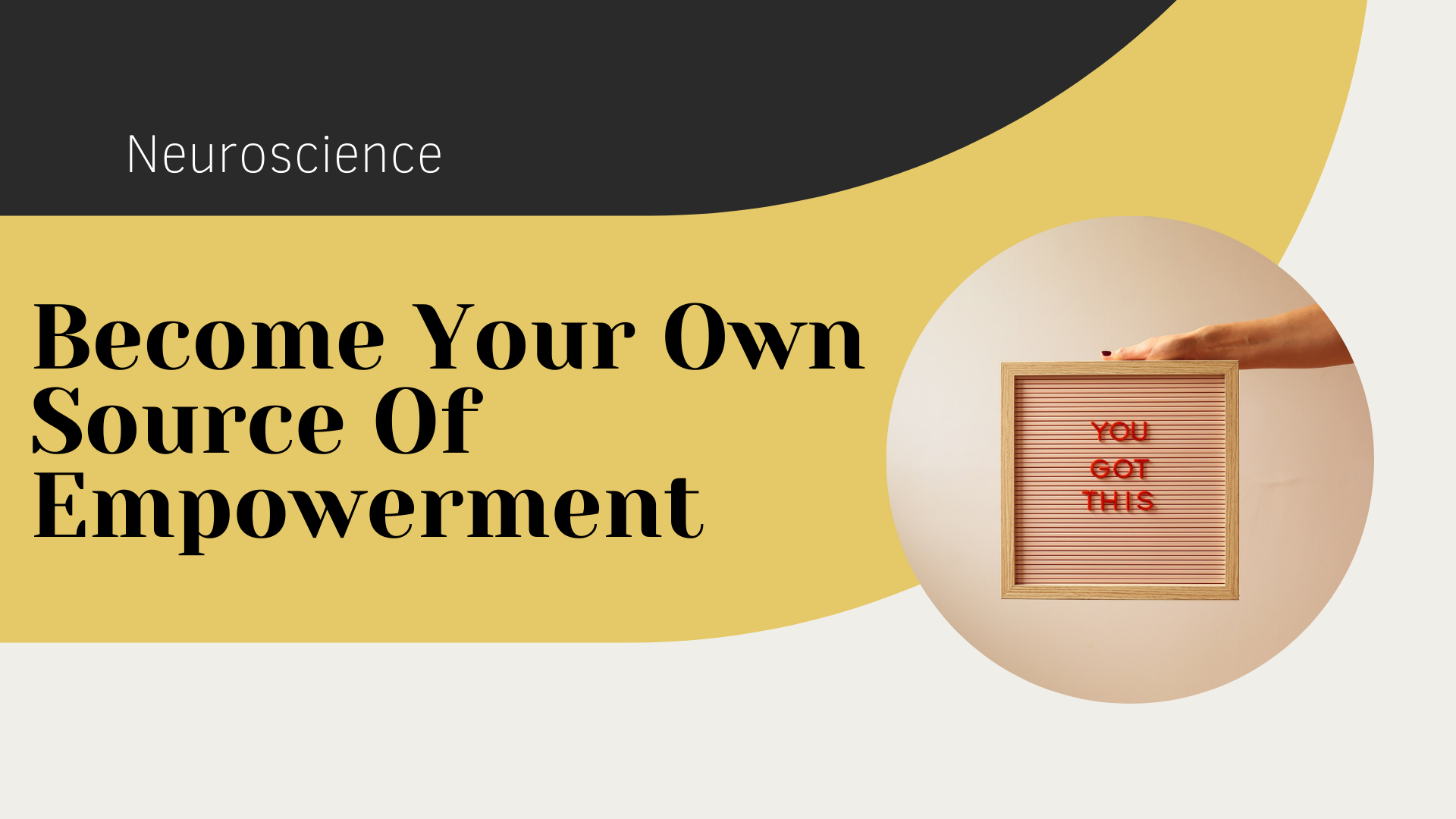 Become Your Own Source Of Empowerment