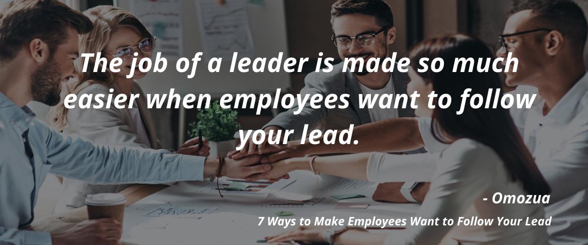 follow your lead